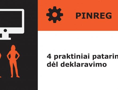 Kaip Jums deklaruoti interesus naujame privačių interesų registre (PINREG)?